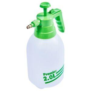 2L Pressure Sprayer Pump Litre Watering Garden Weedkiller Hand Spray Bottle