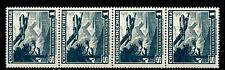 CHILI - CILE - PA - 1950/53 - Serie ordinaria. Aereo e teleferica - 1 peseta 4va