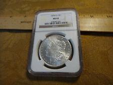 1878-CC United States Morgan Silver Dollar $1 NGC MS62 - Free S&H USA
