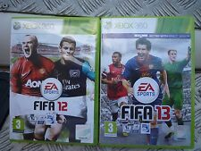 FIFA 12 and 13 Xbox 360  both owned from new and in very good conition