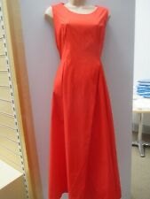 COS RED ORGANIC COTTON SUMMER MAXI DRESS SIZE 14 / 16 NWOT