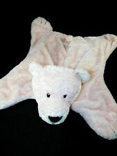 Baby Gund Pink Comfy Cozy Teddy Bear Stuffed Animal Security Blanket Lovey #5864