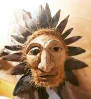 Traditional Yaka Mask  Coconut Face HandMade in Sri Lanka