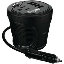 ENERGIZER EN180 12-Volt Cup Holder Power Inverter (180 Watts)