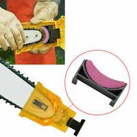 Woodworking Chainsaw Teeth Chain Saw Sharpener Sharpening Stone Tool U4X5