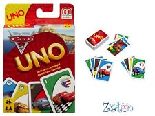 Uno cars 2 jeu de cartes de voyage, travel card game, Kartenspiel Reisespiel