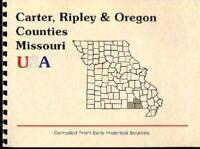 MO CARTER/RIPLEY/OREGON COUNTY MISSOURI~Doniphan~ALTON~1886 OZARK REGION HISTORY
