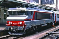PHOTO  SNCF FRENCH RAILWAYS 15000 CLASS BO-BO ELECTRIC BB15040 AT LUXEMBOURG CIT