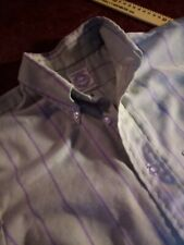 Vintage 60s Arrow Cum Laude green Short Sleeve Decton Oxford Shirt, Size S 14.5