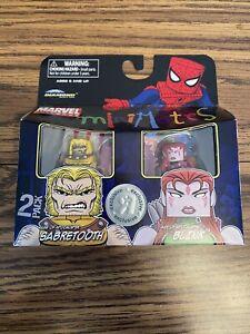 Marvel Minimates Sabretooth Blink Age Of Apocalypse Toys R Us Exclusive RARE
