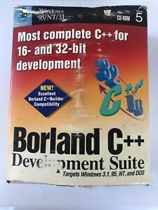 Borland C++ Version 5 Windows 95 / NT Windows 3.1 95 NT DOS