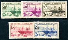 ALGERIE 1939 Yvert 153-157 ** POSTFRISCH(F0090
