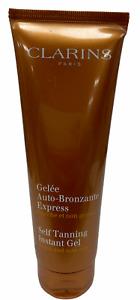 Clarins Self Tanning Instant Gel (Fresh & Non Oily | 125ml/4.5oz) NEW