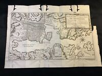 1746 PLAN OF THE PORT AND THE CITY OF NAGASAKI, JAPAN