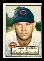 1952 Topps Set Break # 176 Hank Edwards EX *OBGcards*