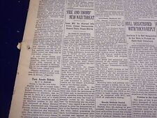 1938 NOVEMBER 23 NEW YORK TIMES - FIRE AND SWORD NEW NAZI THREAT - NT 2397