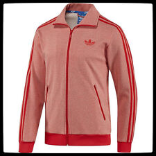 Adidas Firebird Full-Zip Red Top Mens Jacket (F78002) Size XL