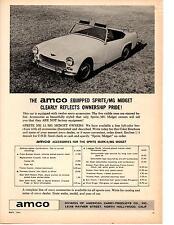 1964 SPRITE MK II / MG MIDGET  ~  NICE ORIGINAL AMCO AD