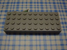 Lego Brick 4x10 6212 oldgray gris placa 6566 4816 5976