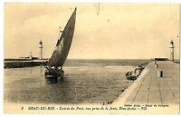 CPA 06 Alpes-Maritimes Grau-du-Roi Entrée du Port, vue prise de la jetée