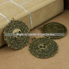 3 pcs Antique Copper Jewelry accessories Pirates Copper Pirates of the Caribbean