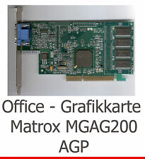 LEGENDÄRE AGP 3D GRAFIKKARTE MATROX MILLENNIUM G200 FÜR WINDOWS 7 XP VISTA LINUX