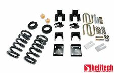 Belltech 04-06 Silverado Crew Cab 3/5 Drop Lowering Kit 673