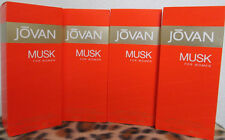 JOVAN MUSK COMBO 4 FOUR BOTTLES 3.25 OZ / 96 ML CONCENTRATE COLOGNE SPRAY WOMEN