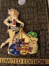 Hard Rock Cafe Pin,ON-LINE,NEW ZEALAND Pin Up Girl Serie 2,Sexy Girl,LE 100 SOLD