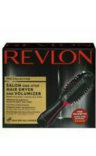 Revlon PRO Collection Salon One Step Hair Dryer and Volumizer Brush Pink - New #