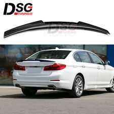 For BMW 5 Series G30 530i 540i Carbon Fiber Rear Trunk Spoiler Wing M4 Lip 2017