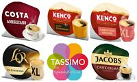 Tassimo Black Coffee Selection Variety Bundle Capsules T-Discs Pods 40 Drinks ☕