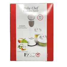 Baby Chef Fao Schwarz Freshness Saver Recha 00006000 rgeable Vacuum Sealer + Containers