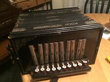 Vintage A Koch Accordeon  Made In East Germany