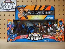 Marvel Super Hero Squad WOLVERINE W1 COMING OF APOCALYPSE Archangel Nightcrawler
