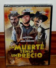 LA MUERTE TENIA UN PRECIO DVD NUEVO PRECINTADO WESTERN CLINT EASTWOOD SIN ABRIR
