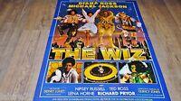 THE WIZ ! michael jackson diana ross affiche cinema
