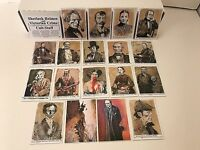 SHERLOCK HOLMES & VICTORIAN CRIME Cult-Stuff Complete Card Set w/ PROMO CARD #P1