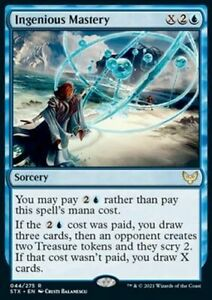 *Magic MtG: 4x Ingenious Mastery (Rare) - Strixhaven: School of Mages *TOP*