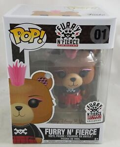 Build-A-Bear Funko Fourrure N'Fierce # 01 Figurine Pop Vinyle Chaud Objet X