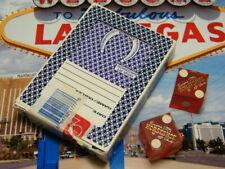 Binion's Horseshoe Casino Purple Playing Cards + Red Dice Matching #s Las Vegas