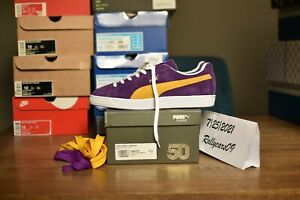 Puma Suede Classic x Collectors Lakers US 11/UK 10 made in Japan