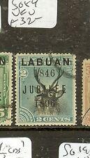 LABUAN   (P2907B) JUBILEE 2C DEER   SG84    VFU