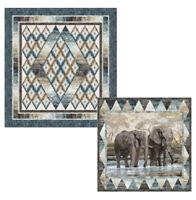 Shimmer  Fabric Mocha Browns Northcott 2.5 inch strip set