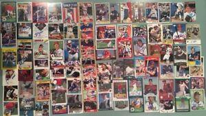 100) California & Anaheim Angels AUTOGRAPHS / SIGNED Mixed Baseball Card -  Lot