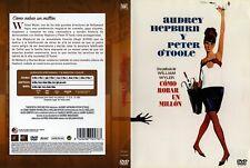 COMO ROBAR UN MILLON. dvd.