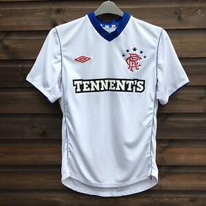 UMBRO Glasgow Rangers 2012-13 Men's Football Away Shirt Top Size MEDIUM, White