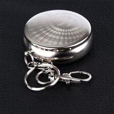 Mini Portable Pocket Stainless Steel Round Cigarette Ashtray