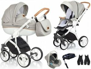 New Roan Bass Soft Island Stone Baby Pram Stroller Pushchair Buggy Travel System