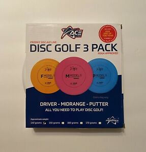 Prodigy Disc Ace Line Starter Set 3 Disc Pack (140g)